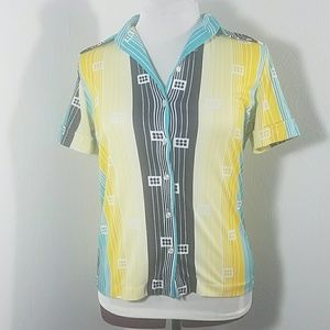 Trissi line and square blouse